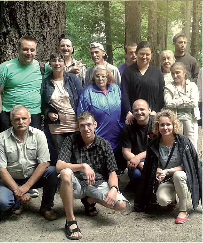 Wycieczka osób niepełnosprawnych do Doliny Charlotty