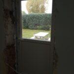 Na zdjęciu 5 drzwi na ogród w ŚDS SZANSA