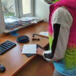 dzieci z placówki wsparcia dziennego w Urzędzie Pocztowym w Sianowie 9