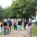 uczestniczki projektu Sianowski klub Integracji Społecznej podczas wyjazdu do Gdańska Westerplatte