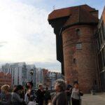 uczestniczki projektu Sianowski klub Integracji Społecznej podczas wyjazdu do Gdańska Żuraw