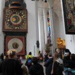 uczestniczki projektu Sianowski klub Integracji Społecznej podczas wyjazdu do Gdańska kościół