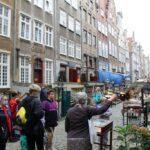 uczestniczki projektu Sianowski klub Integracji Społecznej podczas wyjazdu do Gdańska ulica rzemieślnicza