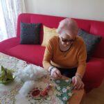 Seniorka p. Stasia i kolejne choinkowe dzieło