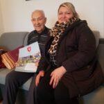 Senior p. Franciszek ze świątecznymi życzeniami i kalendarzem