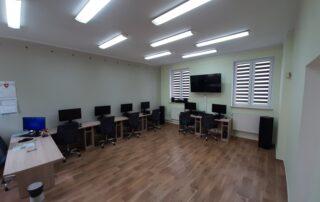 Wnętrze Klubu Integracji Społecznej 3