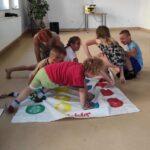Zabawy integracyjne w Placówce Wsparcia Dziennego w Skibnie 6