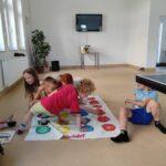 Zabawy integracyjne w Placówce Wsparcia Dziennego w Skibnie 7