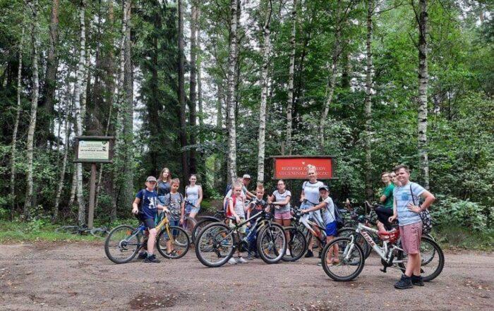 Rajd rowerowy w PWD Karnieszewice 8