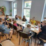 Spotkanie z funkcjonariuszami Straży Miejskiej w PWD Karnieszewice 12