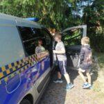 Spotkanie z funkcjonariuszami Straży Miejskiej w PWD Karnieszewice 2