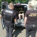 Spotkanie z funkcjonariuszami Straży Miejskiej w PWD Karnieszewice 5