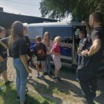 Spotkanie z funkcjonariuszami Straży Miejskiej w PWD Karnieszewice 7