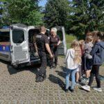 Spotkanie z funkcjonariuszami Straży Miejskiej w PWD Karnieszewice 8